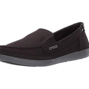 NWOT CROC Walu Canvas Loafer Slip On Size 8
